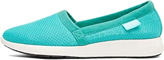 MAGCOL Simple Casual Shoes Women's Breathable Mesh One Foot Set of Walking Shoes