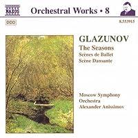 Seasons / Scenes De Ballet / Scene Dansante by GLAZUNOV (1998-07-28)
