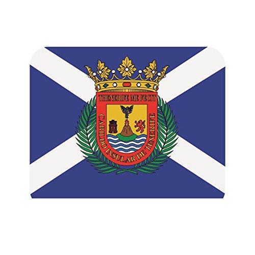 U24 Mousepad Textil Teneriffa Fahne Flagge Mauspad
