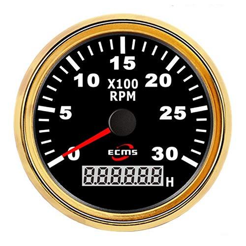 Diesel Benzin Motor Drehzahlmesser 85mm 3 3/8