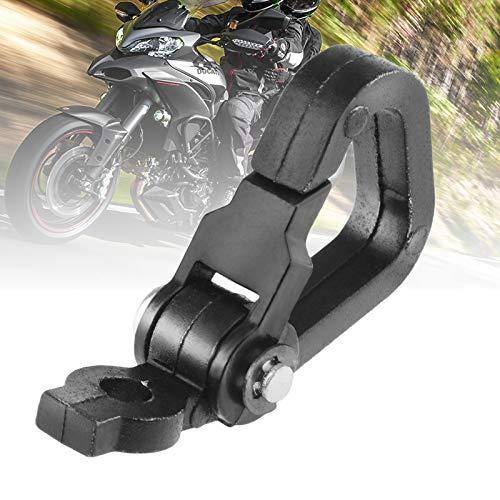 BGTR Motocicleta Spring Clip Snap Hook Equipaje Botella de casco for Motorbike/Scooter/Dirt Bike/ATV/Quad Aley Aley Moto Accesorios (Color : Negro)