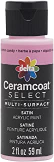 Delta Creative 04002 Ceramcoat Select Multi-Surface Paint, 2 oz, Cotton Candy