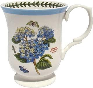 Portmeirion Botanic Garden Terrace Blue Border Hydrangea Mug Porcelain Fine China