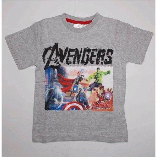 Avengers T-Shirt T-Shirt d'été Enfant Marvel 3/8 ans – oe1730/3 9-10 years grigio c.