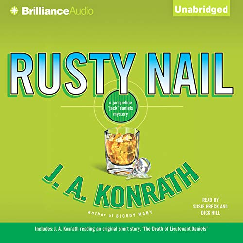 Rusty Nail audiobook cover art