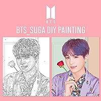 ILOVEPAINTING BTS 公式商品 DIY 絵画 SUGA