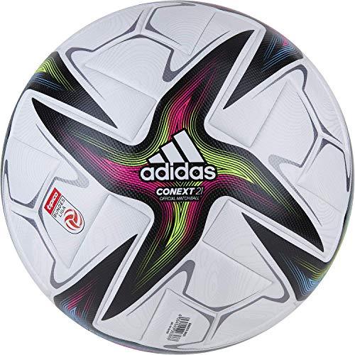 adidas AUT BULi Pro Balón, Hombres, Blanco/Negro/ROSSHO/VERSEN (Multicolor), 5