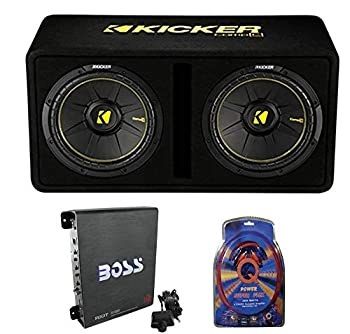 Kicker 40DCWS122 Car Subwoofers Enclosure Amplifier