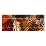 Bilderwelten Cuadro de Madera - Exotic Spices 40x100cm