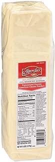 Land O Lakes American Alpine Lace White Process Cheese Slice, 5 Pound -- 4 per case.