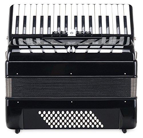 10.  Acordeón Classic Cantabile Secondo III (Negro) | Increíble instrumento de diseño elegante y exclusivo.