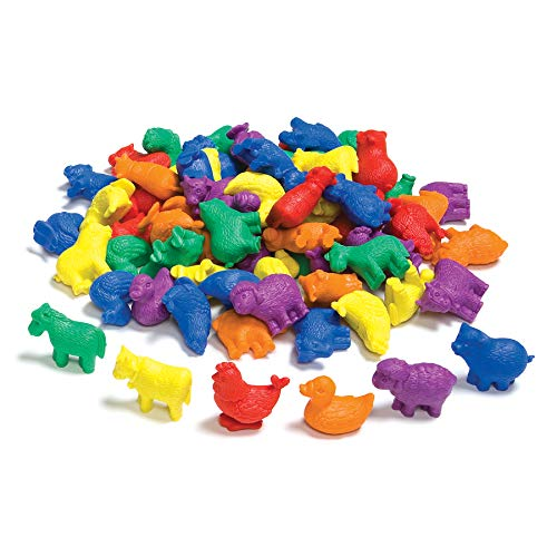 edxeducation-7208 Farm Animal Counters - Pack of 72