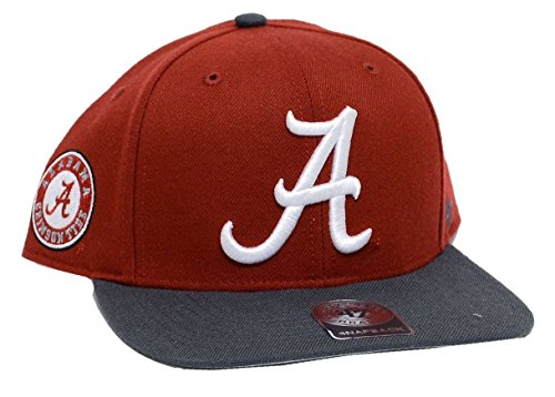 '47 Alabama Crimson Tide Brand Sure Shot Snapback Hat