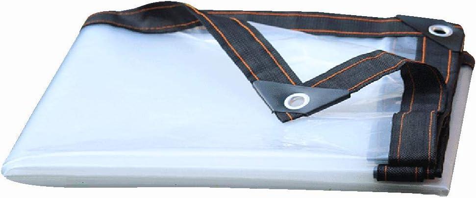 FOTLL Transparent Tarp Very popular Tarps Clear Duty with Heavy It is very popular Waterproof
