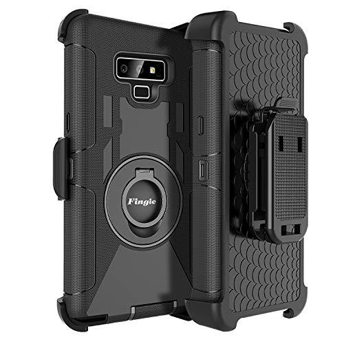 Fingic Samsung Note 9,Note 9 Case for Men,4 in1 Protective Hybrid...