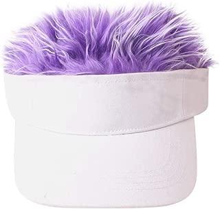 Smoxx Child Wig Solid Color Baseball Cap Hip Hop Versatile Sun Hat Cap Visor,Girls Keep Warm Winter Casual Cap