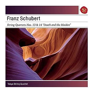 Schubert: String Quartets 13 & 14