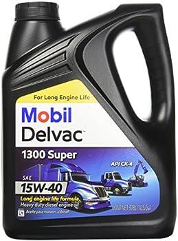 Mobil Delvac 15W-40 Heavy Duty Diesel Oil, 1 gal.