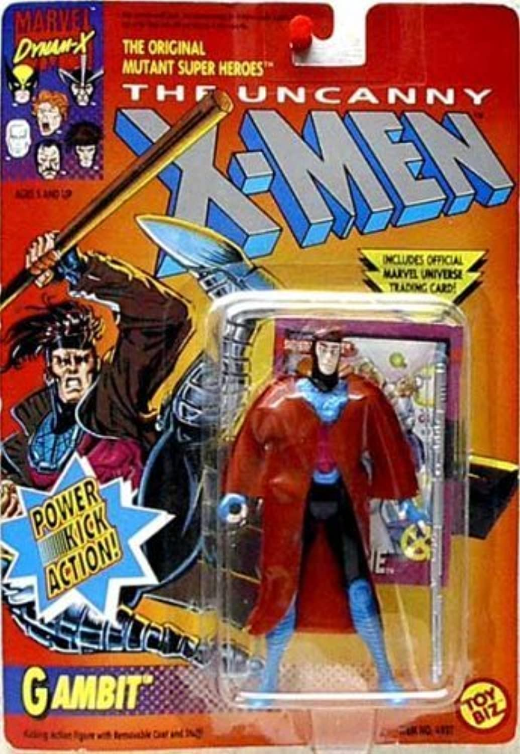 The Uncanny X-Men Gambit Power Kick Aktion steht by x Men