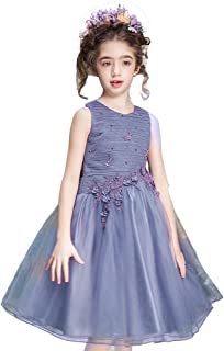 DEBLE 子供ドレスガールズドレス 女の子ドレス ワンピース フォーマル チュールワンピース ピアノ 発表会 演奏会 結婚式 110 120 130 140 150 160 170