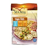 Sea Best Tilapia Fillets, 16 Ounce (Pack of 10), 1 Pound (Pack of 10)