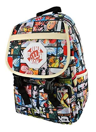 Cosstars ONE Punch Man Anime Cosplay Rucksack Backpack Schultasche Büchertasche Daypack