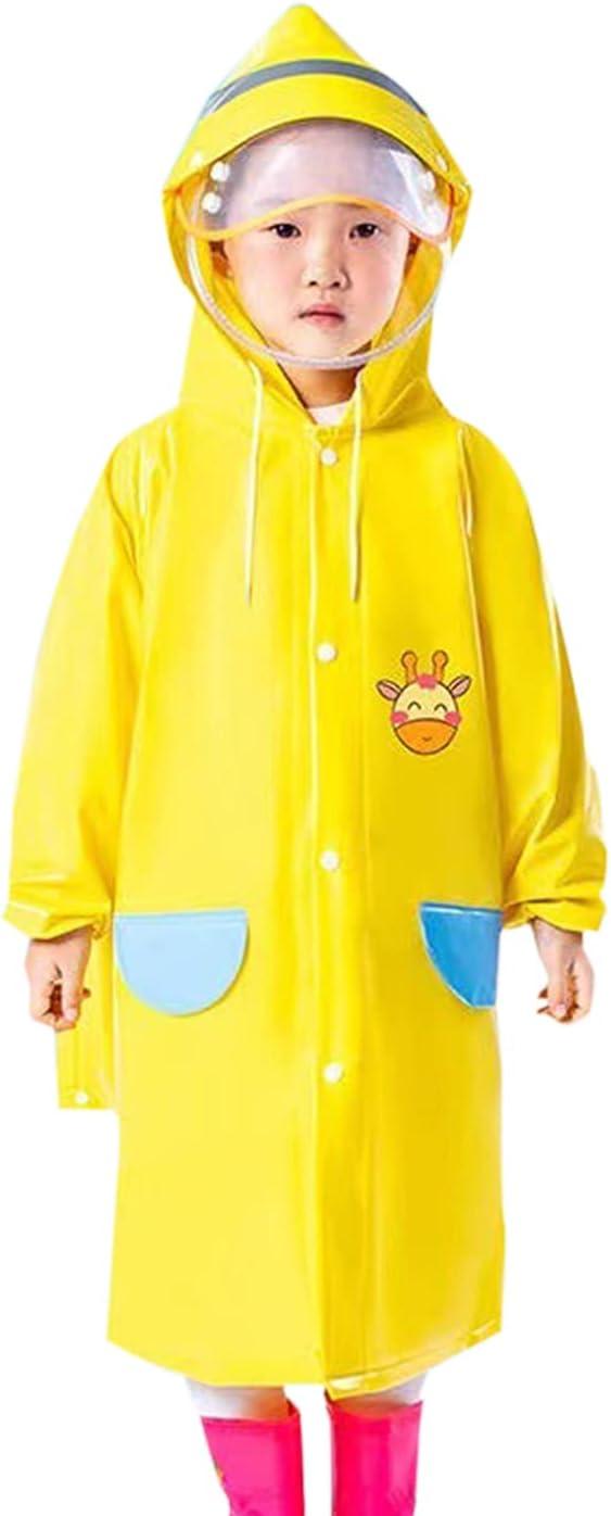 LWZ Children's Raincoats Portable Raincoats for Primary School Students