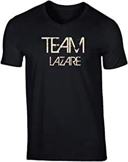 SHAMBLES TEES Team Sports Last First Name Lazare T Shirt