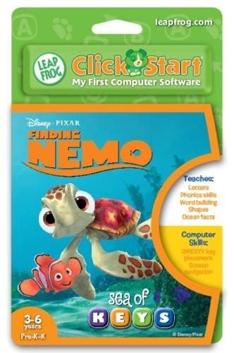 LeapFrog ClickStart Educational Software:Finding Nemo - Sea of Keys
