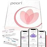 Pearl Fertility, kit de fertilidad, tests de ovulación, y App para monitoreo de niveles hormonales...