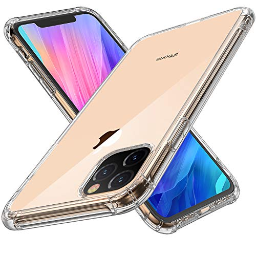 Krichit Phone Protective Case, Clear Series Case Compatible for iPhone 11 Pro Case