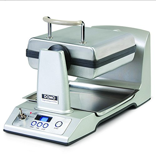 Domo DO-9043W Gaufrier Semi-Professionnel Automatique Inox 1400 W