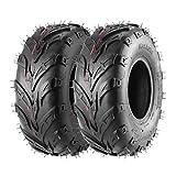 Pack of 2 145 70-6 Tires, 145/70-6 Tubeless Go Kart Street Mini Bike Tires