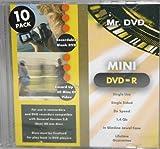 10Pack Mini DVD de R