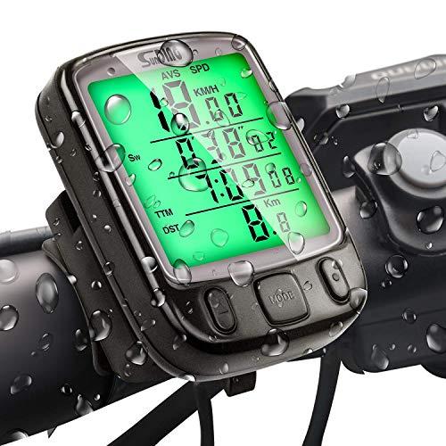 SuMille Bike Velocímetro Odómetro Bike Ordenador
