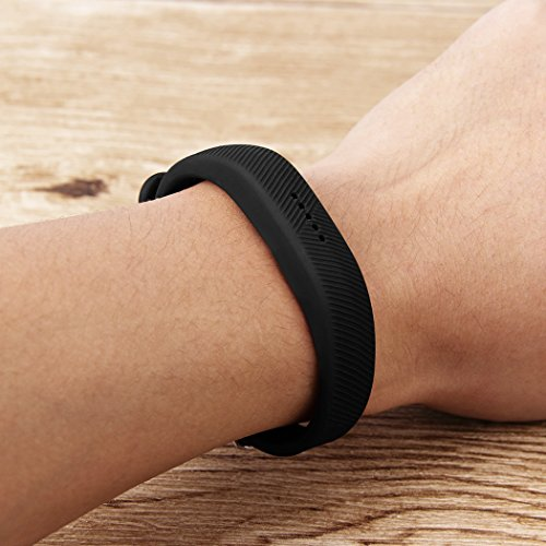 EverActReplacement Bands for Fitbit Flex 2 (3 Pack) Watch-Type Buckle Designed Band 4
