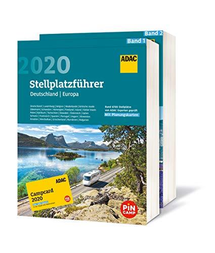 ADAC Stellplatzführer Deutschland und Europa 2020