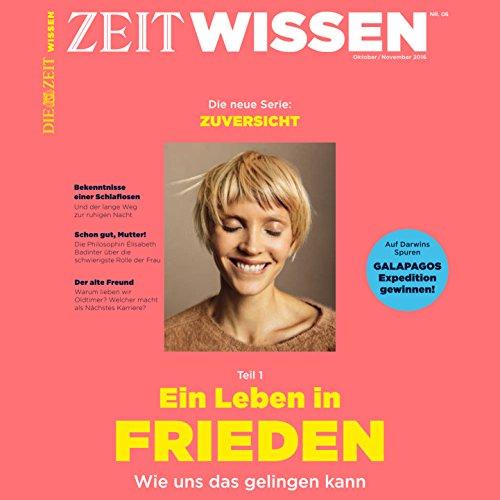 ZeitWissen, Oktober / November 2016 Titelbild