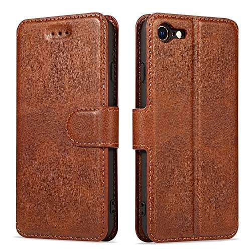 Compatible with iPhone 12 Pro Max Case Lafunda iPhone 12 Pro Max Wallet Case Vintage Retro PU Leather Flip Case Magnetic Closure Card Holder and Stand View Protective Cover for iPhone 12 Pro Max