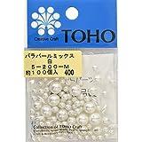 TOHO バラパールミックス 白 約100ヶ入り No.200