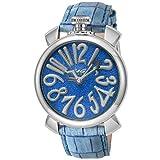 [ガガミラノ] 腕時計 MANUARE 40mm Stardust ブルー文字盤 5220.01 並行輸入品 ブルー