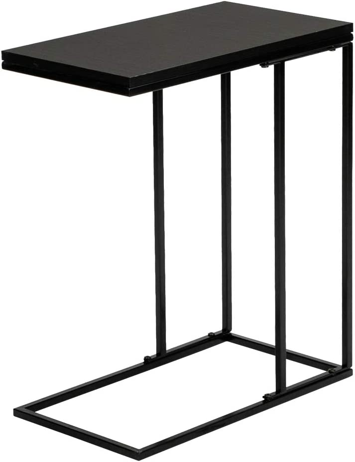 End Table Single Layer Black Direct stock New life discount Narrow Sofa Side Tables Snack