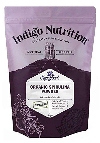 Indigo Herbs Spiruline en poudre Bio 1kg