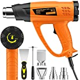 2000W Heat Gun, SEEKONE Hot Air Gun Kit Variable Temperature 60℃-...