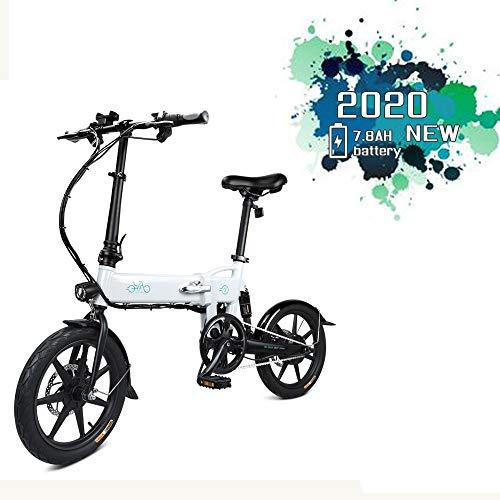 FIIDO D2 Bicicleta eléctrica Plegable 16 Pulgadas