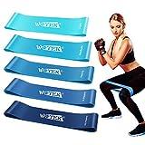 Fitnessbänder Theraband Fitness Fitnessband Gummi Set Original-5er Widerstandsbänder Krafttraining...