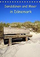 Sandduenen und Meer in Daenemark (Tischkalender 2022 DIN A5 hoch): Das Meer und die Sandduenen in Daenemark (Planer, 14 Seiten )