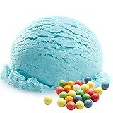 Kaugummi Blau Geschmack 1 Kg Gino Gelati Eispulver für Milcheis Softeispulver Speiseeispulver