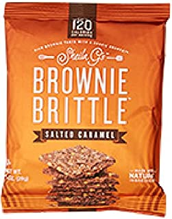 Sheila G's Brownie Brittle 1 Oz. (Pack of 72) (Salted Caramel)