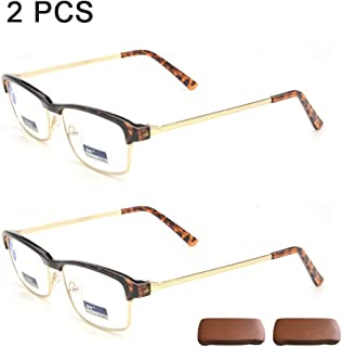 afc4af792e Admier Gafas de Lectura de computadora 1.00D a 3.00D para Hombres Gafas de  presbicia